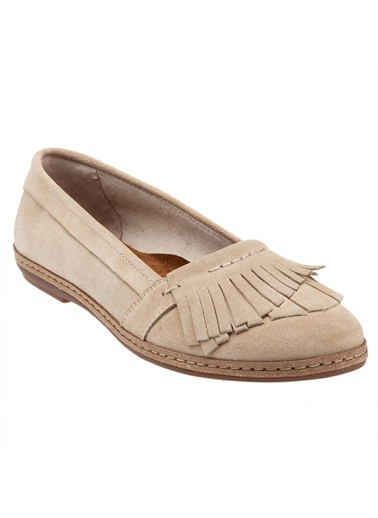 %100 Süet Babet-Hush Puppies